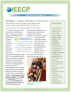 IEECP newsletter September 2017